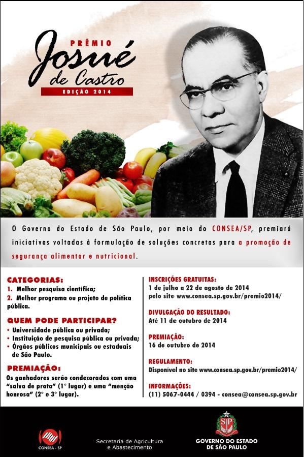 Prêmio de Segurança Alimentar
